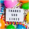 Thanks 500 Likes!